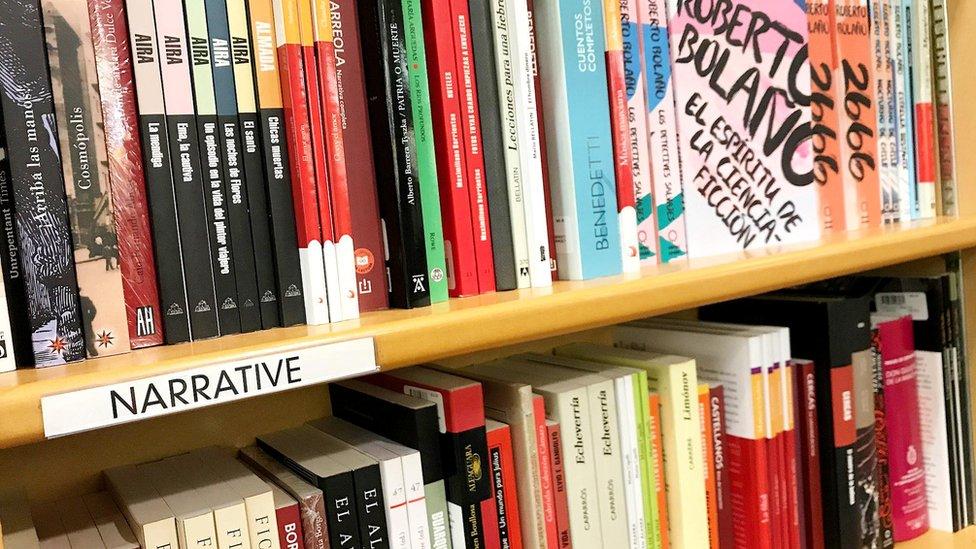 Libros en McNally Bookstore (Pascual Brodsky/BBC Mundo)