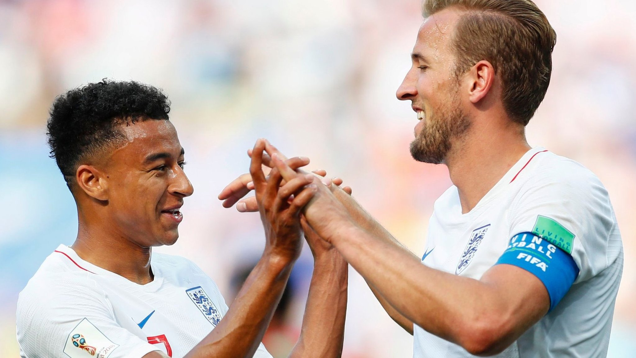 Brilliant England reach knockout stage with 6-1 win - highlights & report