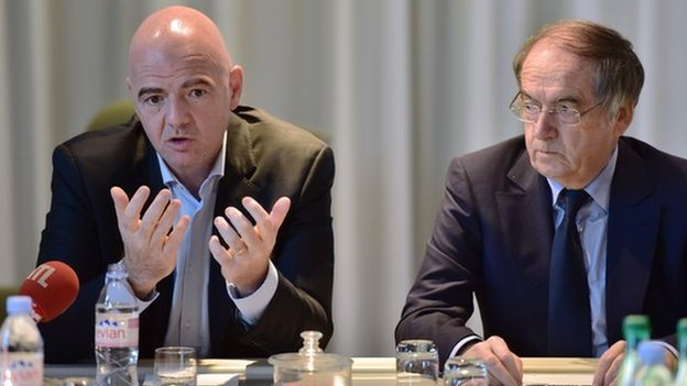 Fifa and France sign agreement on African football development