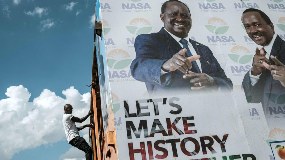 Kenyan voting system 'won't be ready'