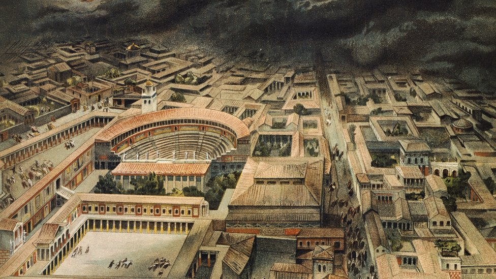Pompeii: Vesuvius eruption may have been later than thought