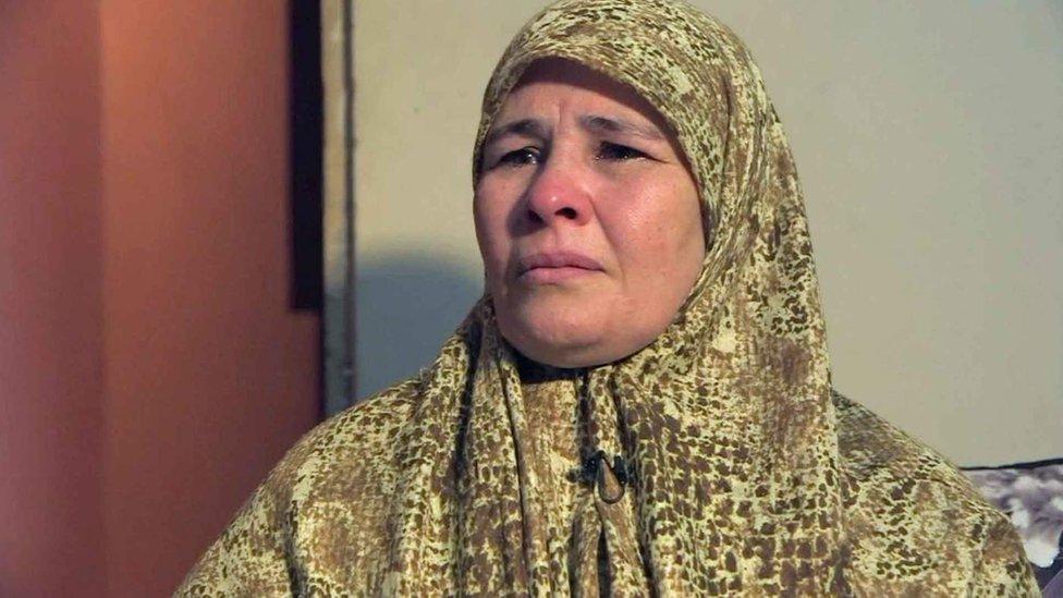 La madre de Zubeida le dijo a la BBC que su hija desapareció en abril de 2017.