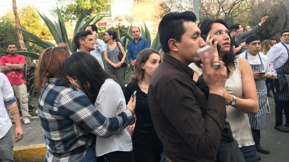 Mexico earthquake: Strong tremor hits Oaxaca state
