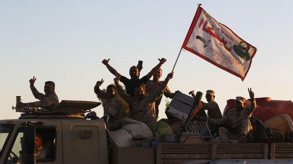 Ірак: курдів відтіснили на позиції 2014 року