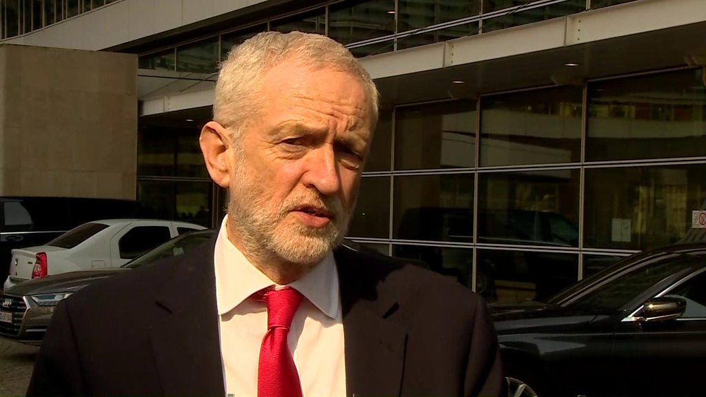 Jeremy Corbyn has said constructive discussions are taking place.