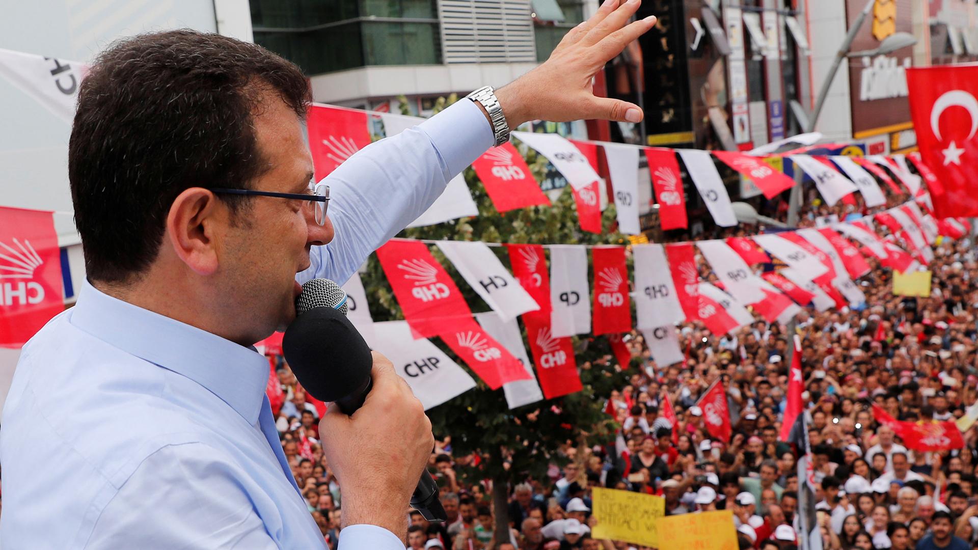 İstanbul seçimi - Ekrem İmamoğlu'nun kampanya stratejisi: Seçmenlerle 'yakın temas'