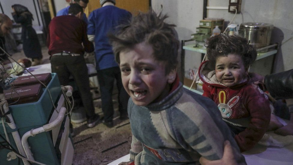 В результаті останніх бомбардувань постраждали діти