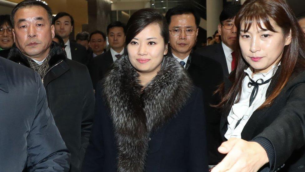 Hyon Song-wol, la líder de Moranbong
