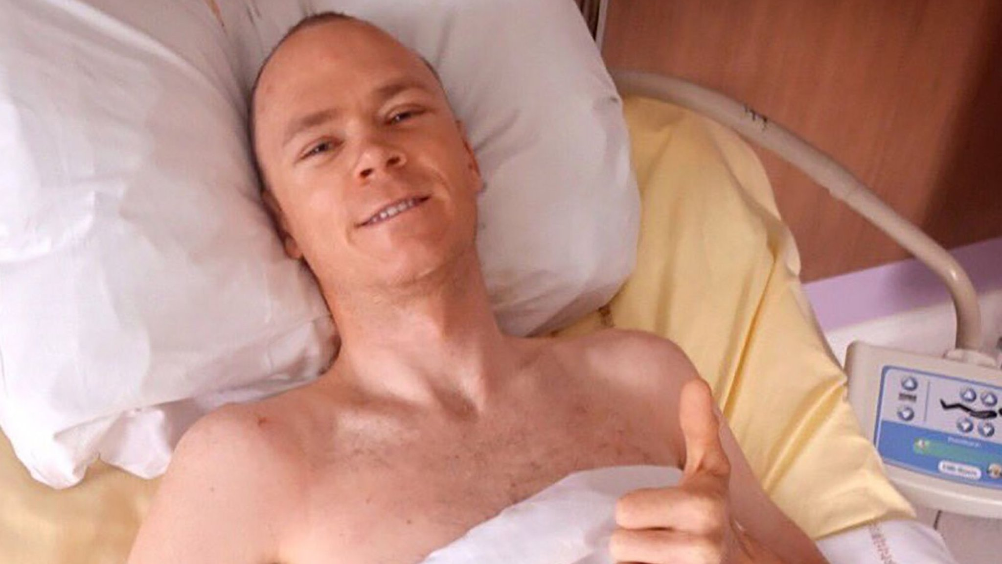 Chris Froome transferred to Monaco rehabilitation unit in 'first step' to recovery from crash