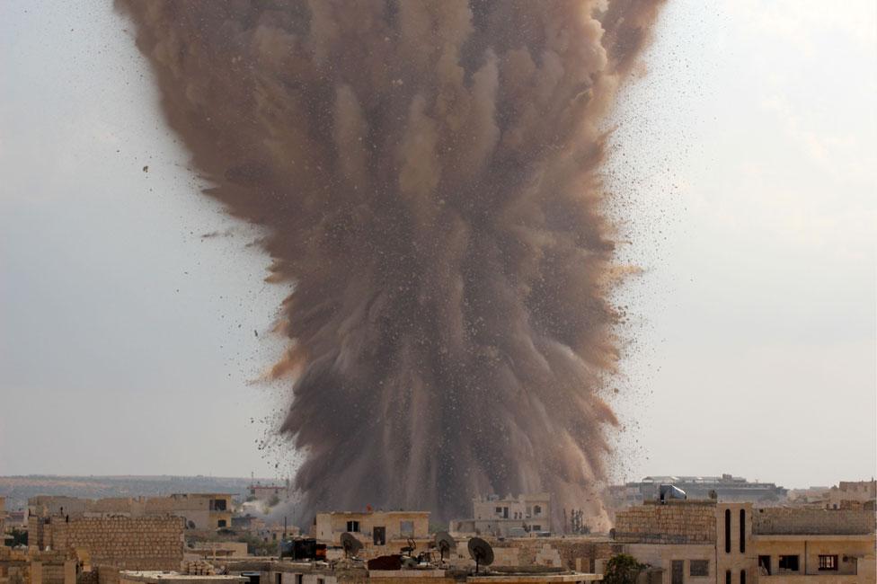 自由沙姆人伊斯蘭運動稱,2014年他們在伊德利卜製造了這起爆炸