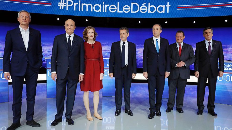 French centre-right Republican Party holds presidential primary