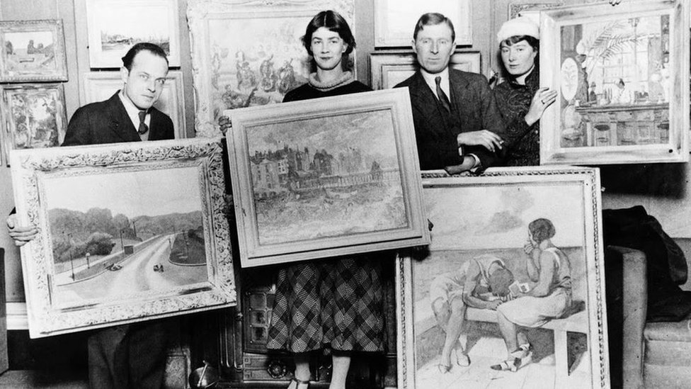 The famed painters who vanished into obscurity