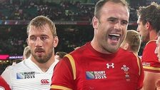 Jamie Roberts and Chris Robshaw