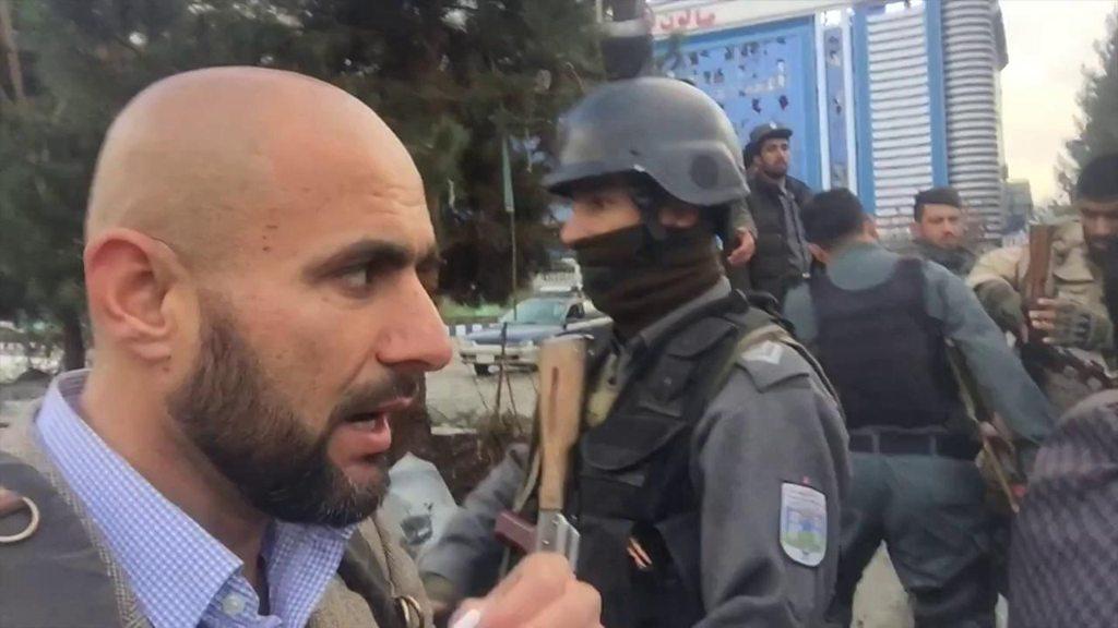 کابل: د ځانمرګي برید سیمه کې زموږ خبریال
