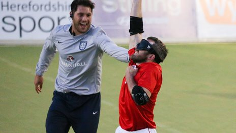 England celebrate victory over Turkey