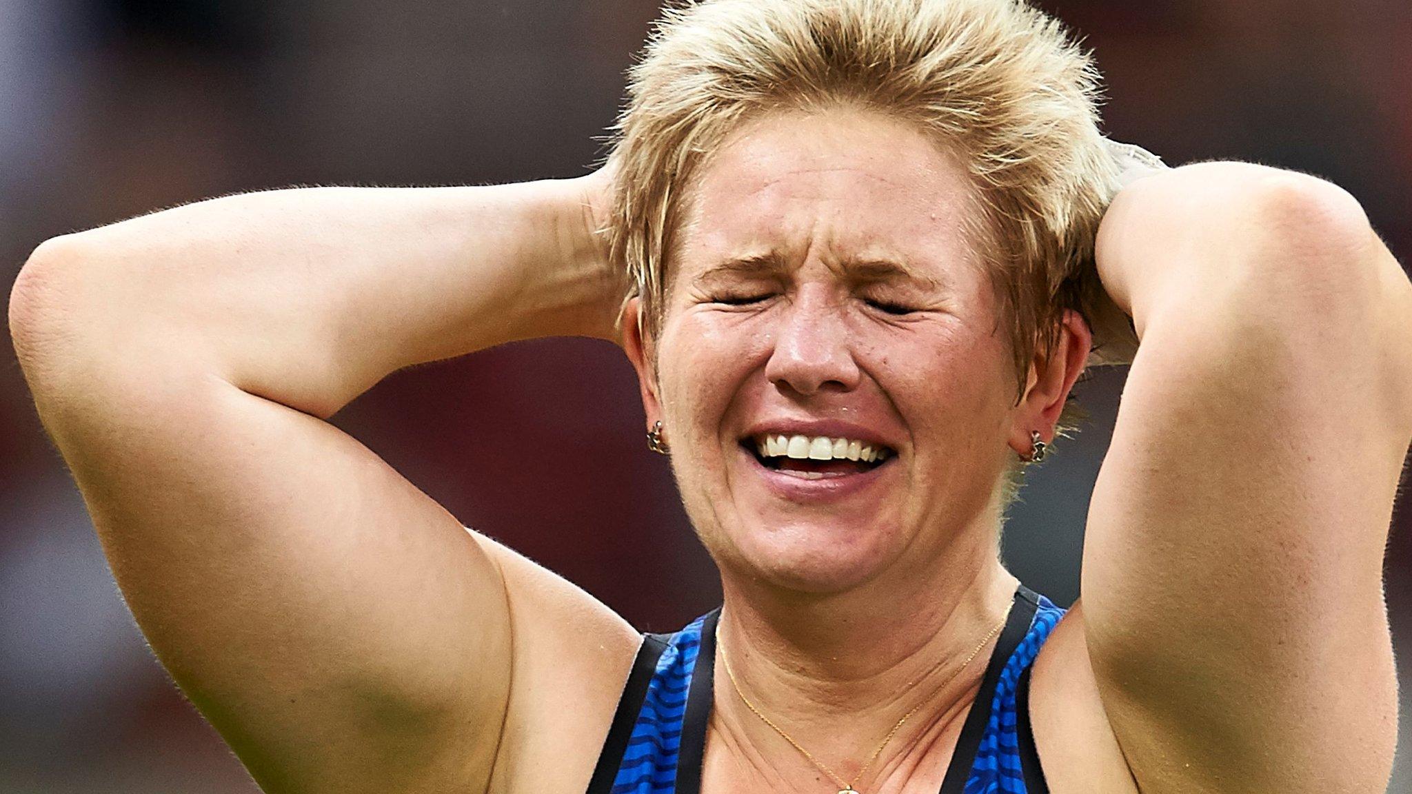Poland's Anita Wlodarczyk breaks hammer world record
