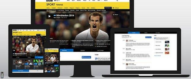 Coverage across BBC TV, radio and online