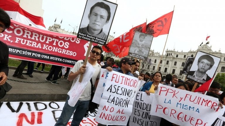Peru writers condemn ex-president Alberto Fujimori's pardon