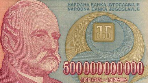 Las guerras dispararon la hiperinflación en la ex-Yugoslavia. (Foto cortesía de tomchao.com).