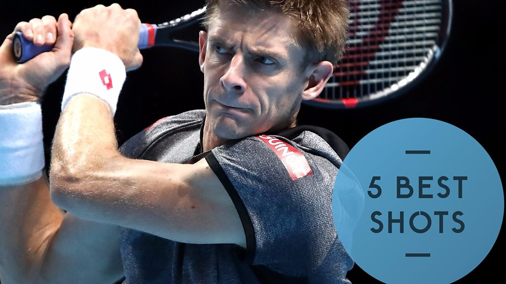 ATP finals: Five best shots from 'embarrassing' Nishikori defeat by Anderson