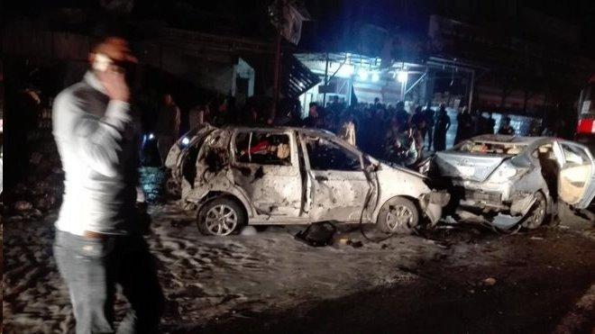 بمبگذار انتحاری با تانکر نفت ایستگاه پلیس در بغداد را هدف گرفت