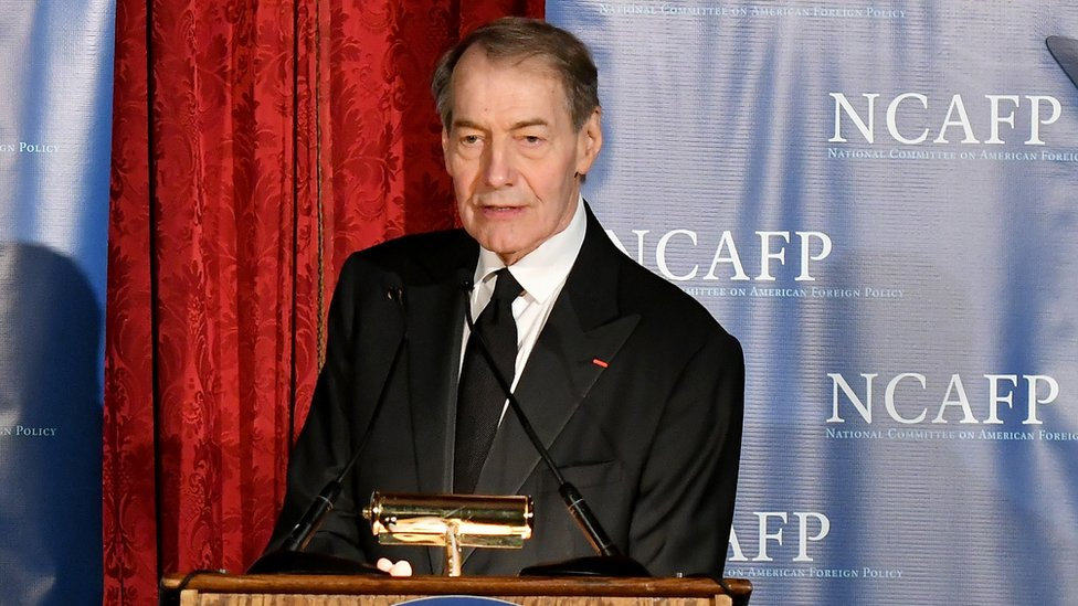TV host Charlie Rose suspended