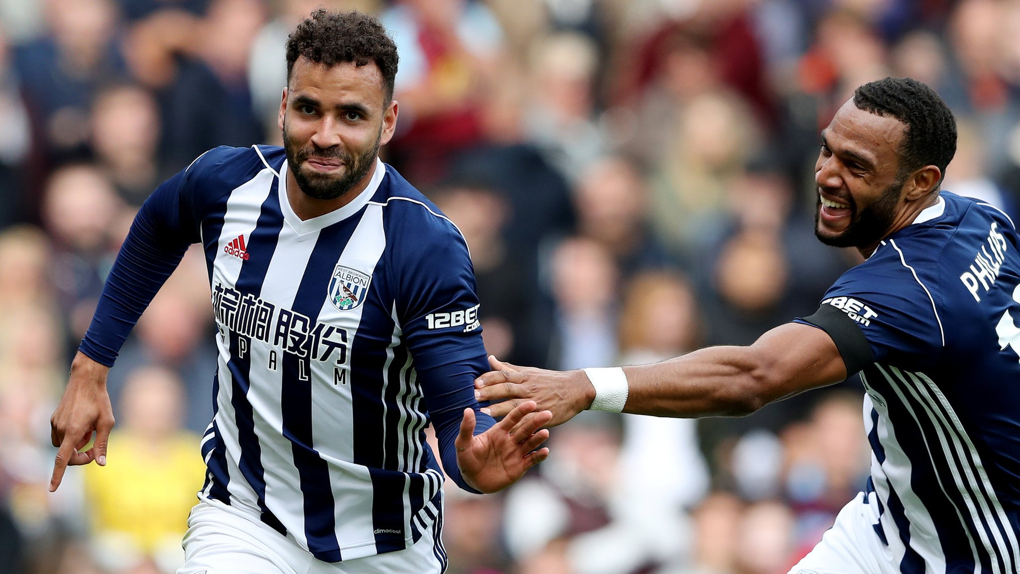 Robson Kanu scores & sees red as West Brom win at Burnley