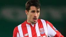 Stoke striker Bojan Krkic
