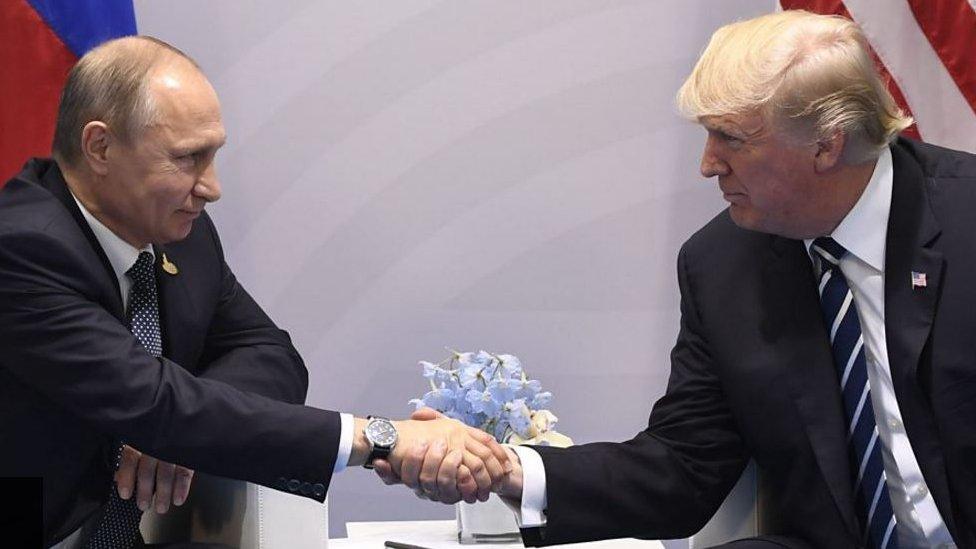 ترامب يهنيء بوتين ويتحدث عن لقاء قريب بينهما
