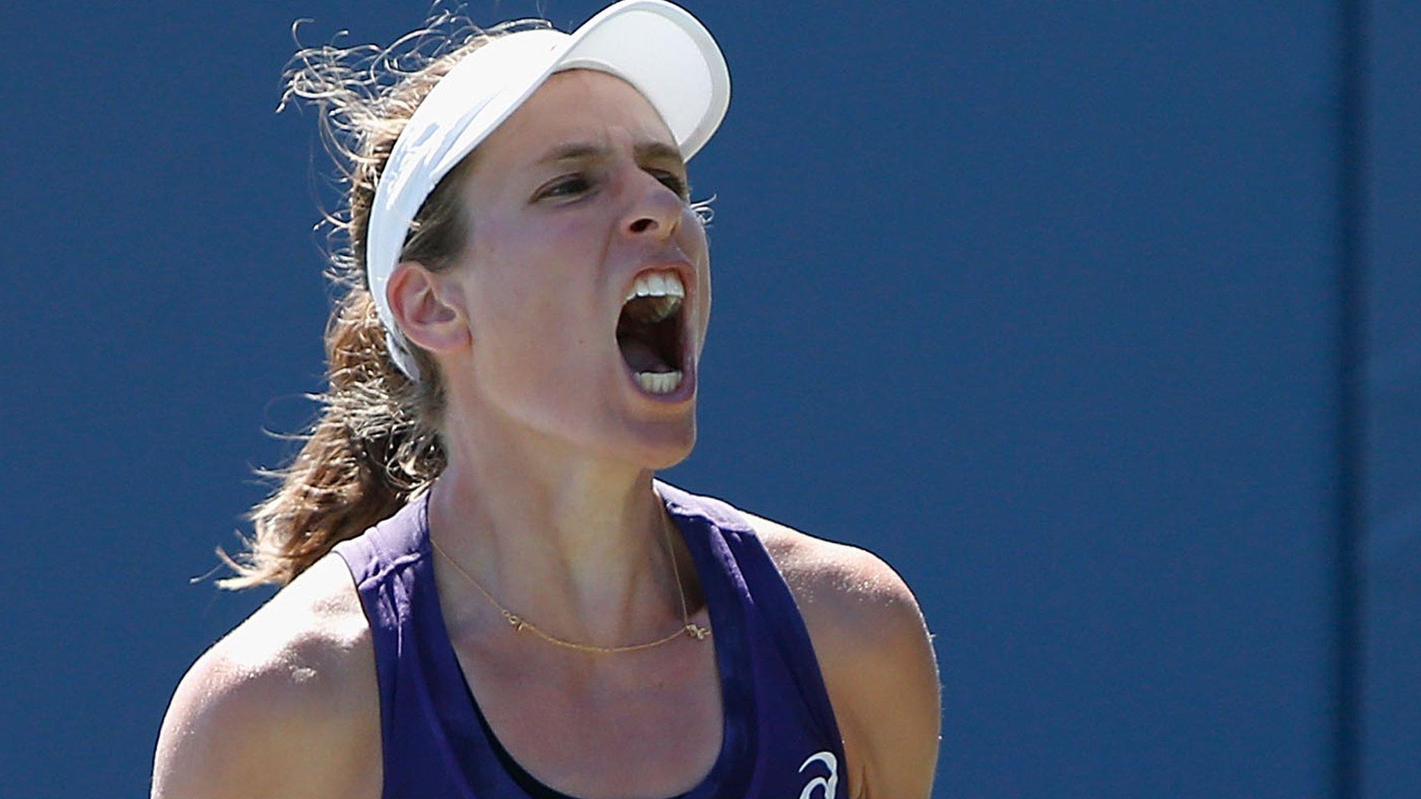 Rogers Cup: Britain's Johanna Konta defeats Shelby Rogers