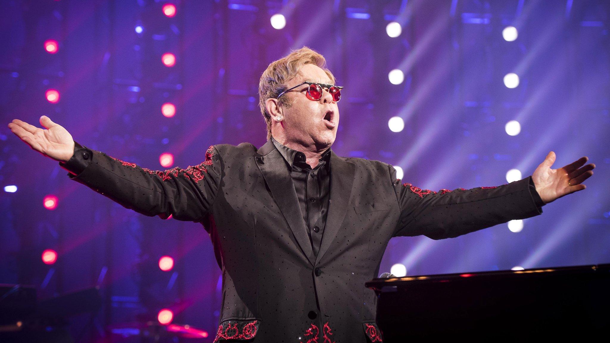 Sir Elton to co-host theatre awards