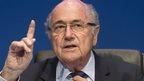 Blatter says he has clean conscience