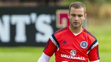 Shaun Maloney in training for Scotland