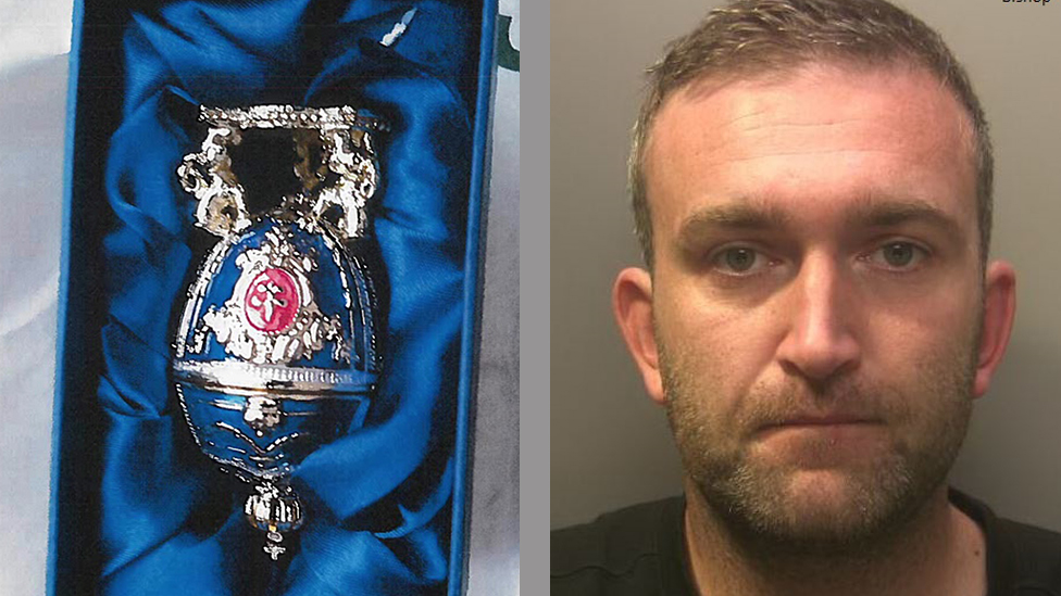 Truth or Not? Faberge egg fugitive Miles Bishop jailed for seven years