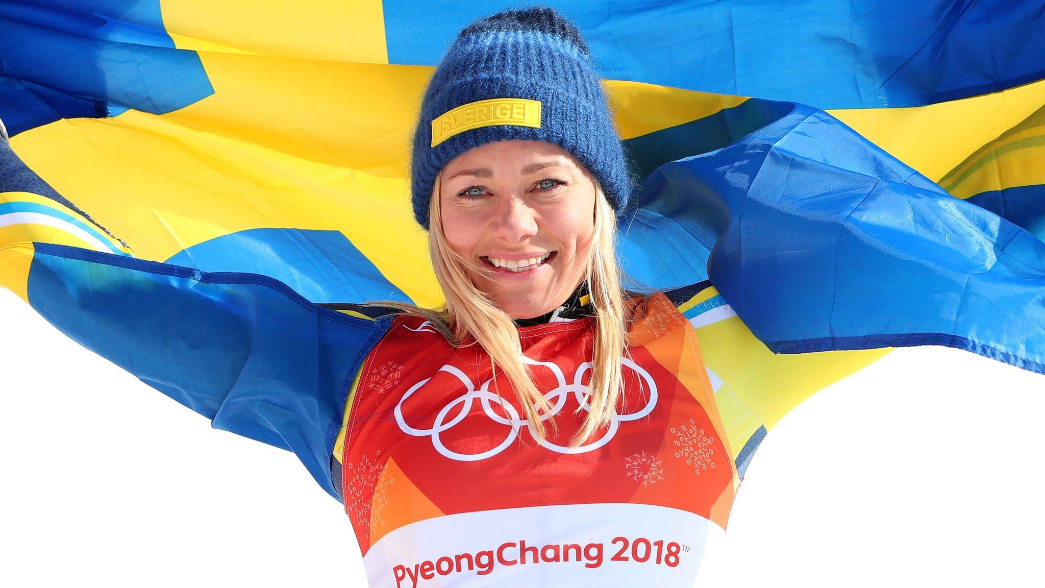 Winter Olympics: Mikaela Shiffrin fourth in slalom as Frida Hansdotter wins