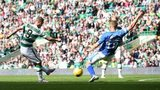Leigh Griffiths scores for Celtic against St Johnstone