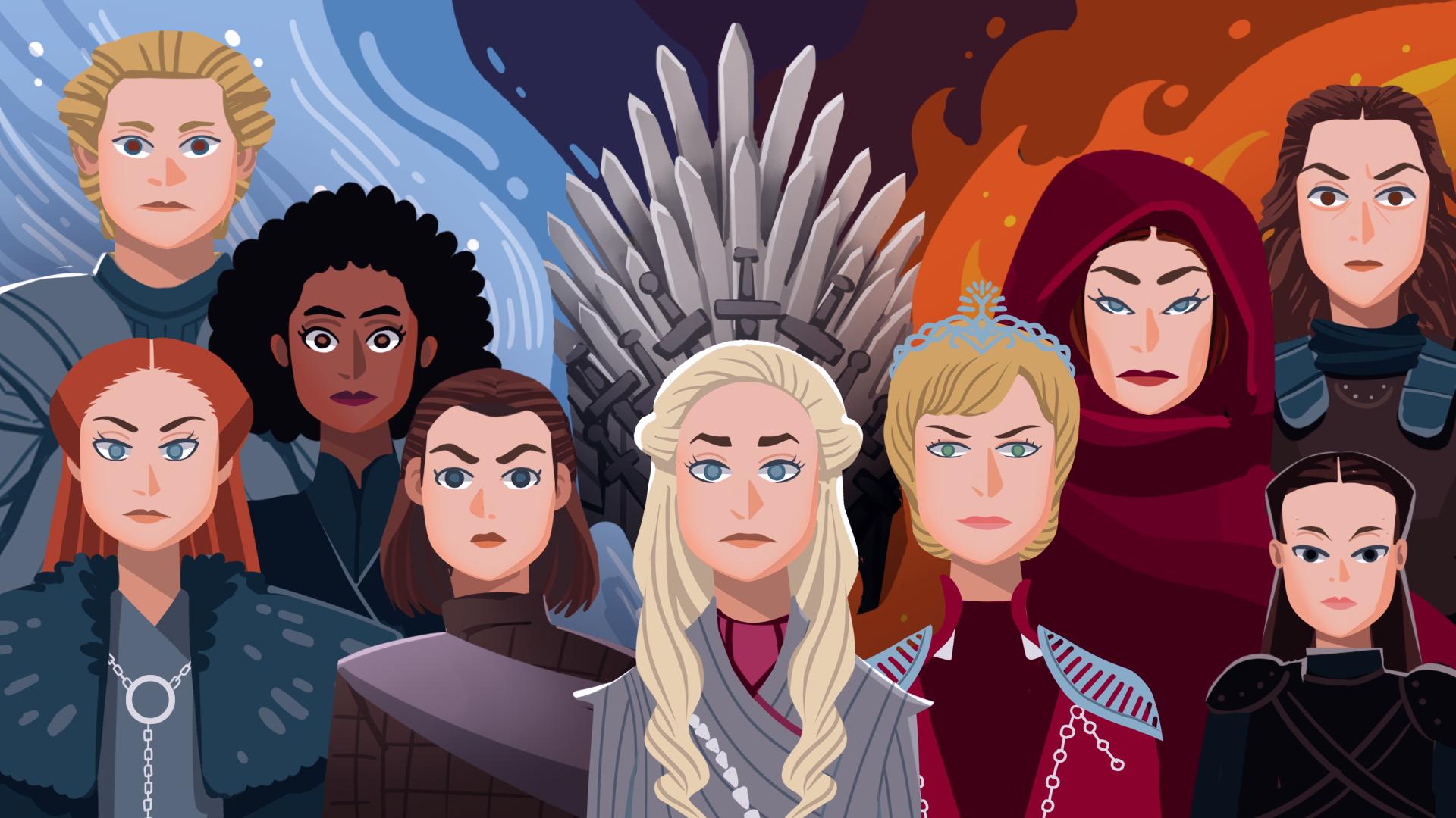 """Как женщины захватили власть в """"Игре престолов"""""""