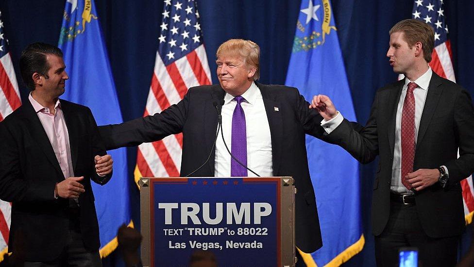 Donald Trump cedió el control de sus negocios a sus hijos mayores tras proclamarse presidente de Estados Unidos