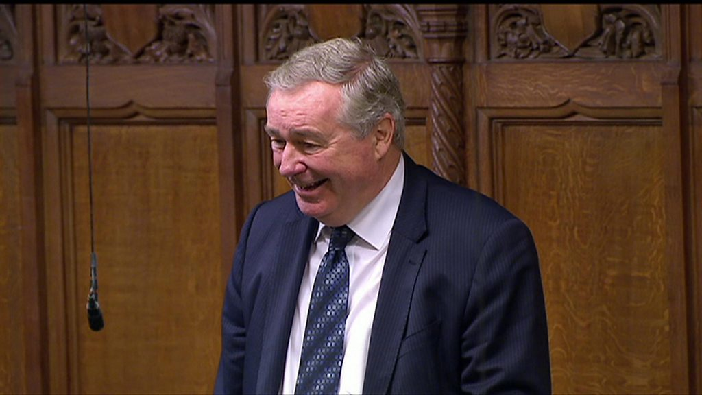 Sir Paul Beresford struggles with Scottish accent