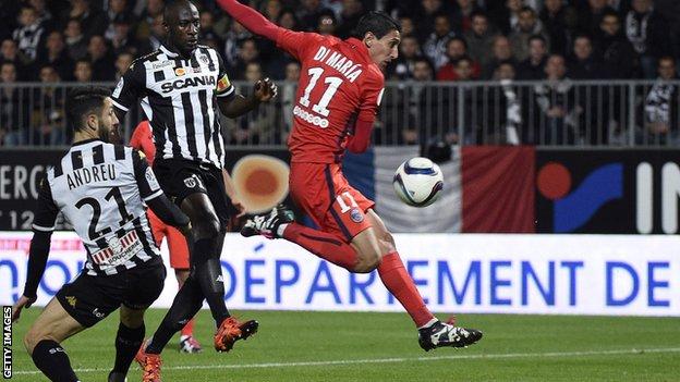Video: Angers vs PSG