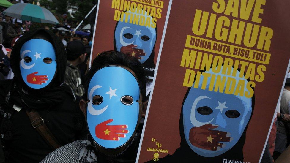 ترکیه چین ته: د ایغوریانو اجباري کمپونه بند کړئ