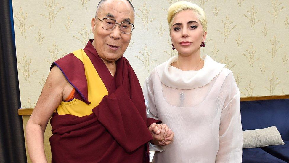 China anger at Lady Gaga-Dalai Lama talk