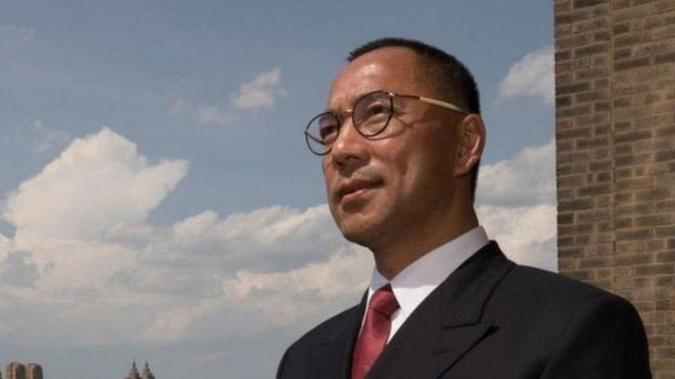 逃亡美國的中國富豪郭文貴