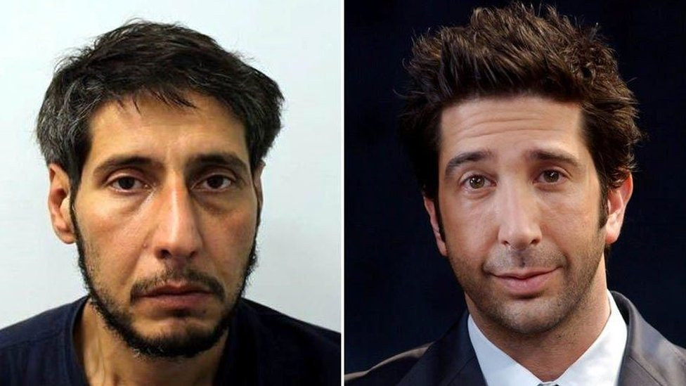 David Schwimmer lookalike: Police make arrest