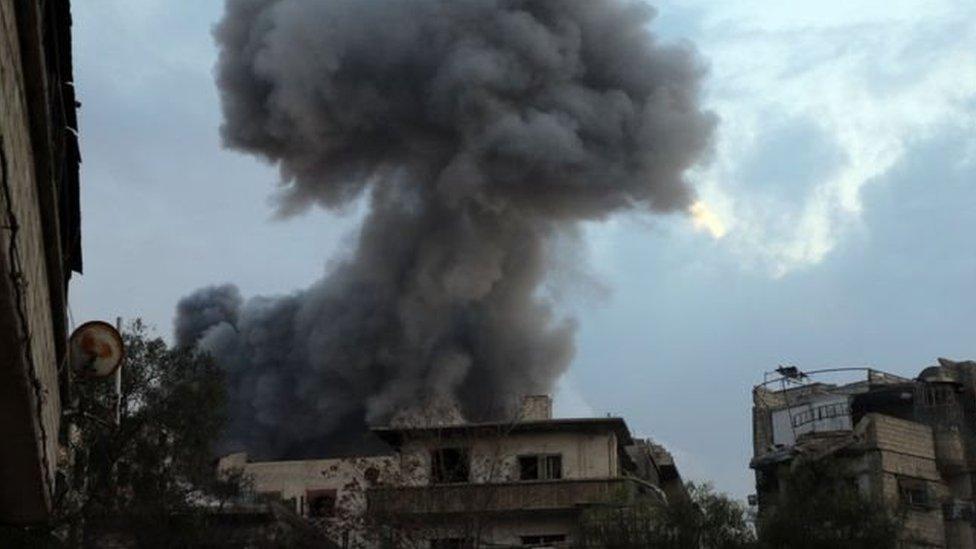 مشاهد دمار بسوريا