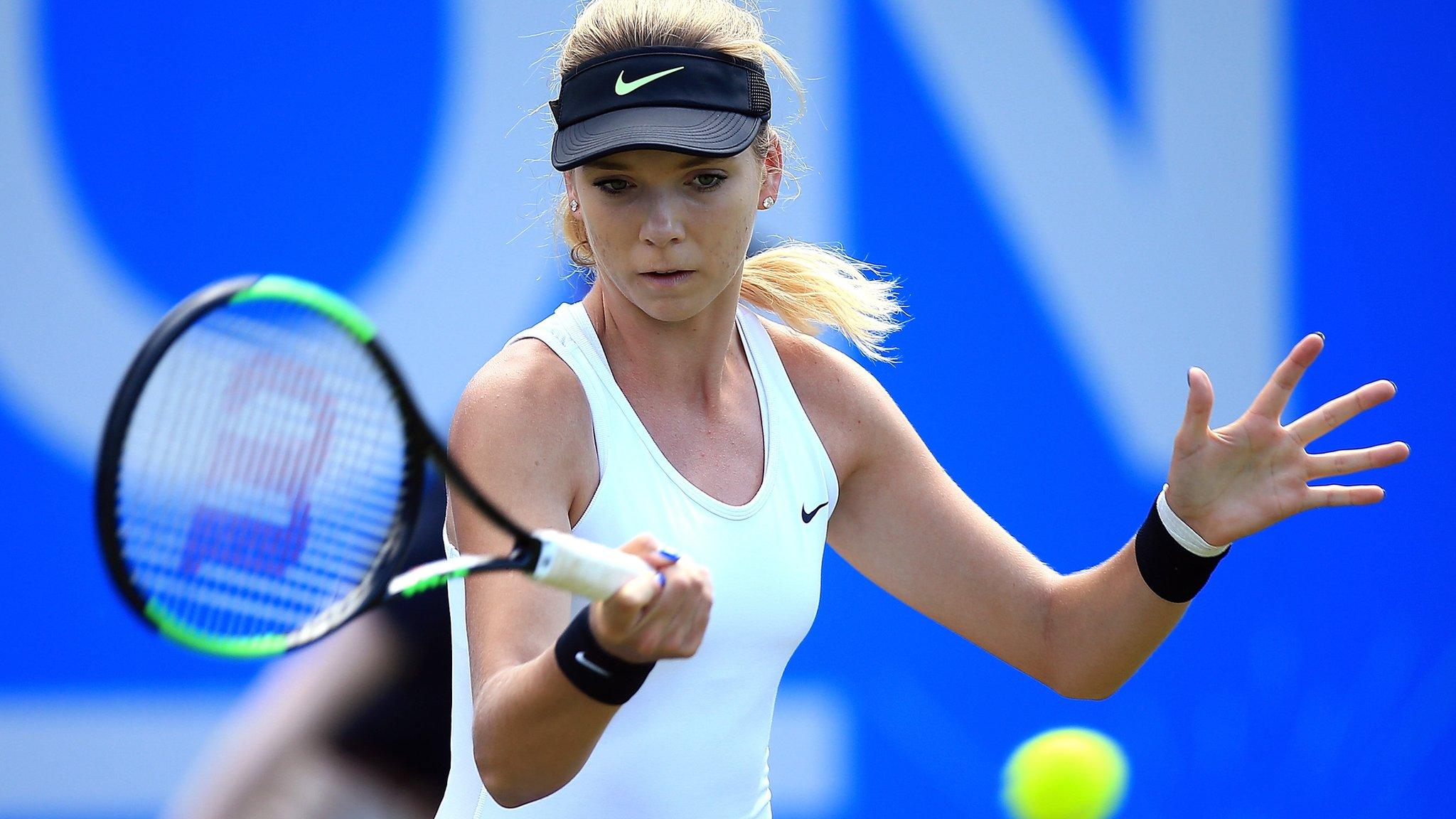 Wimbledon 2017: Katie Boulter will 'cherish' main draw experience