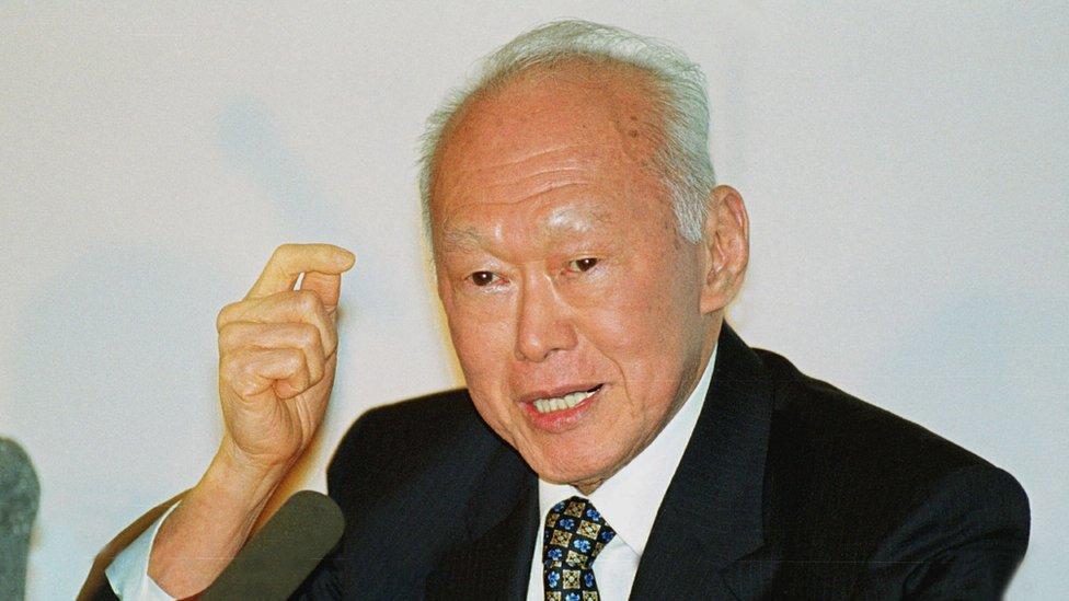 新加坡已故總理李光耀