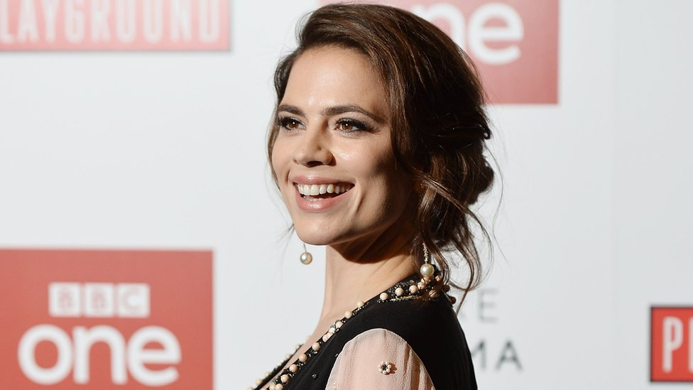 Hayley Atwell calls for 'predator' Weinstein to be punished