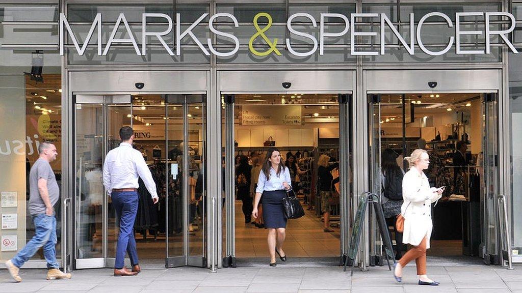 M&S sales and profits fall amid shake-up