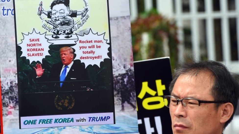 'Dotard' Trump? The story of 'rocket man' Kim's insult